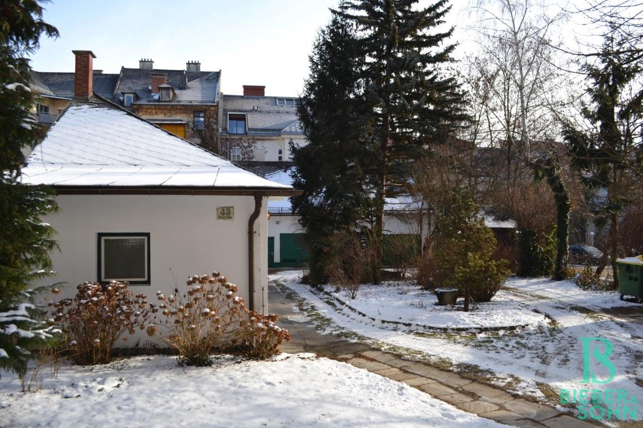 Ausblick von Loggia/Innenhof/Grünanlage