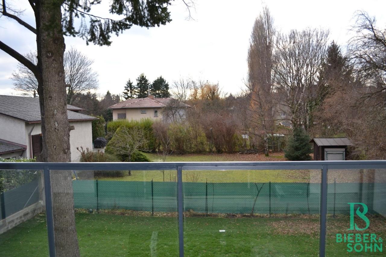 Blick vom Terrasse