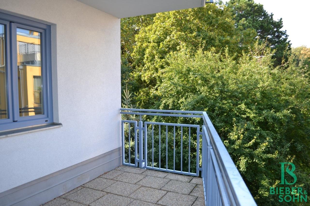 Balkon/Grünblick