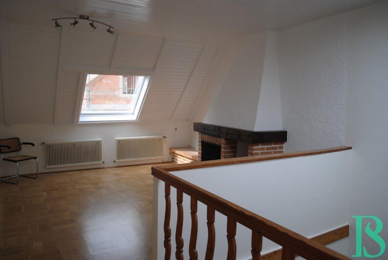 Wohnbereich / Kamin Zimmer
