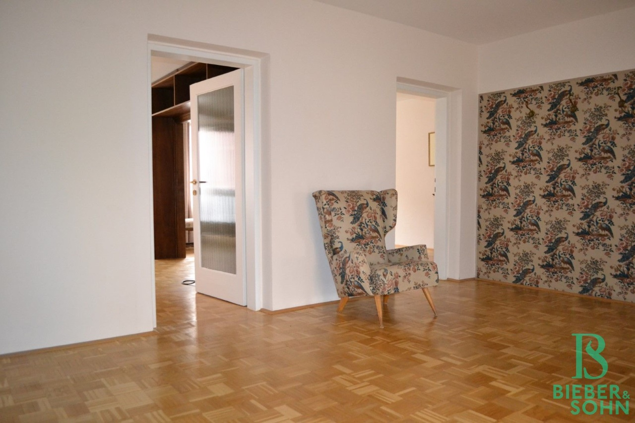 Vorraum/Blick Salon/Esszimmer