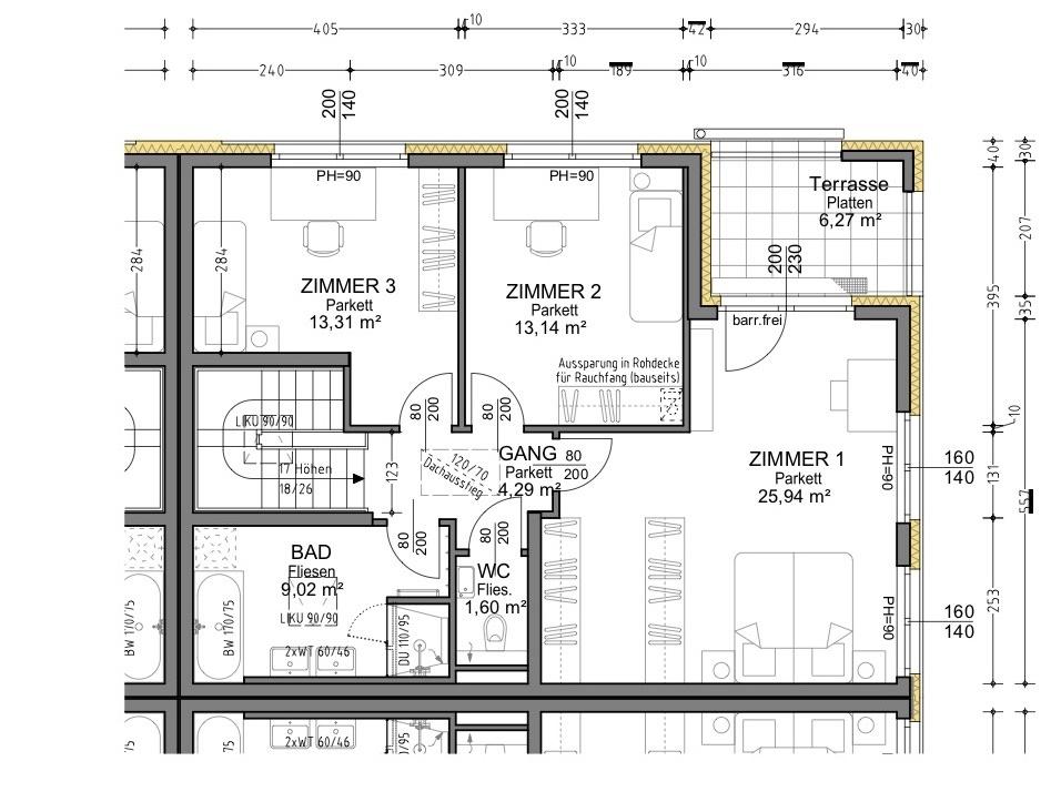Plan 1.3 Musterhaus OG