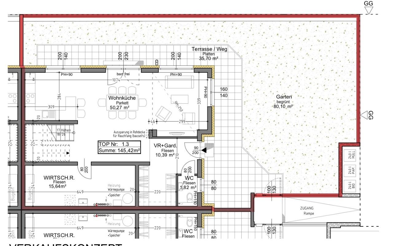 Plan 1.3 Musterhaus EG