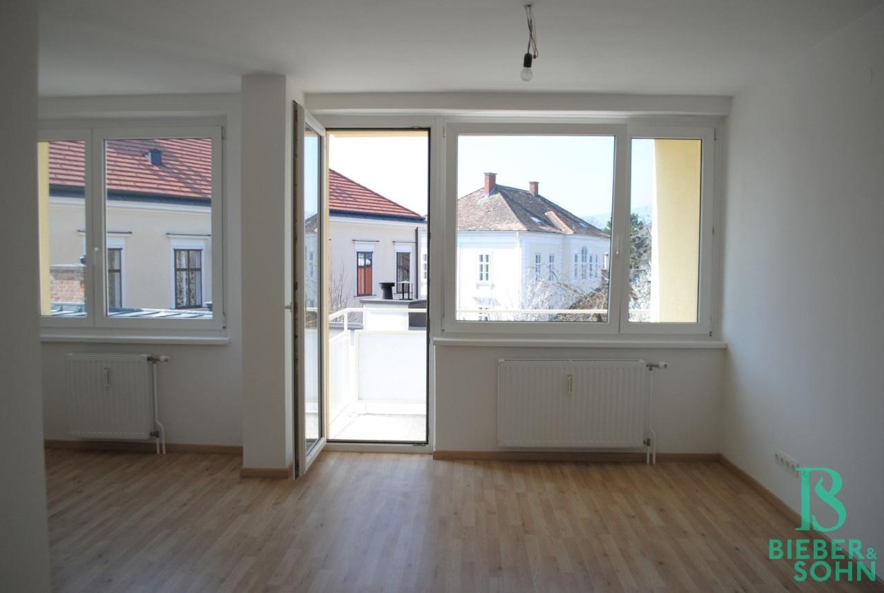 Wohnzimmer / Balkon