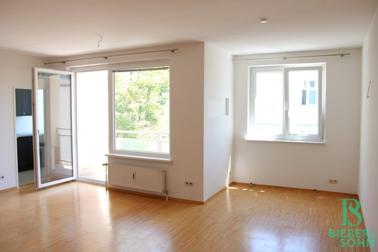 Wohnzimmer / Loggia / Küche