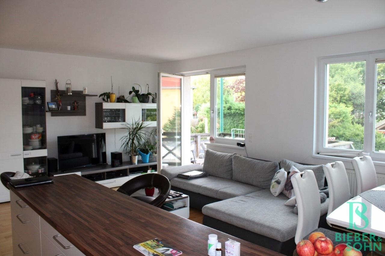 Küche / Wohnzimmer / Balkon