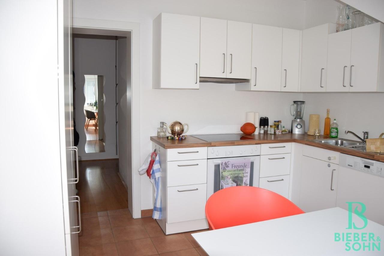 Küche/Blick Flur