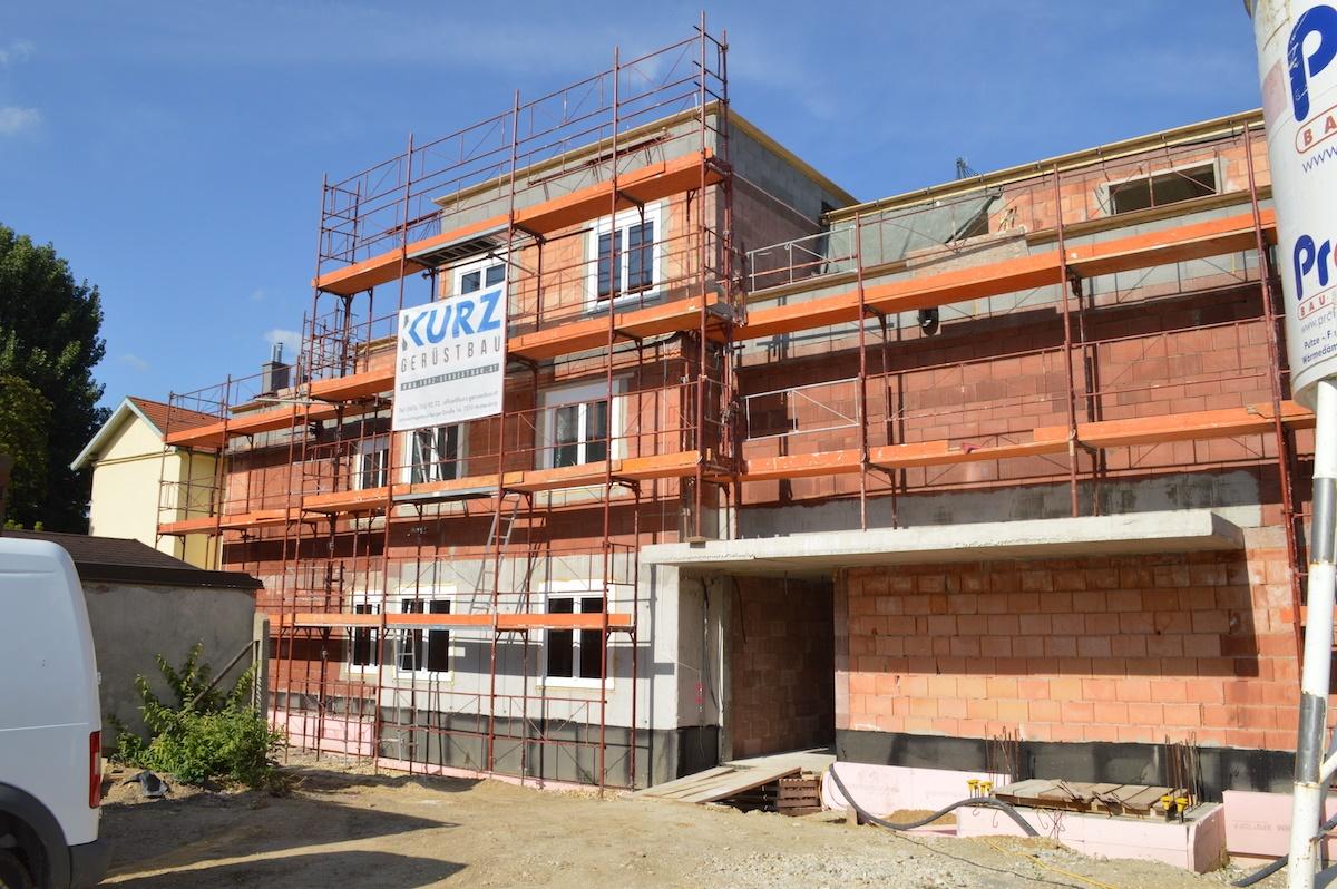 Bauplatz Sept 2019 F2