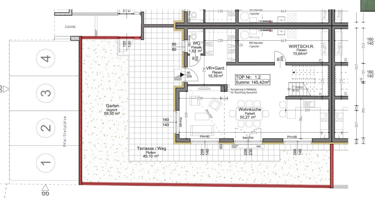 Plan 1.2 Musterhaus EG