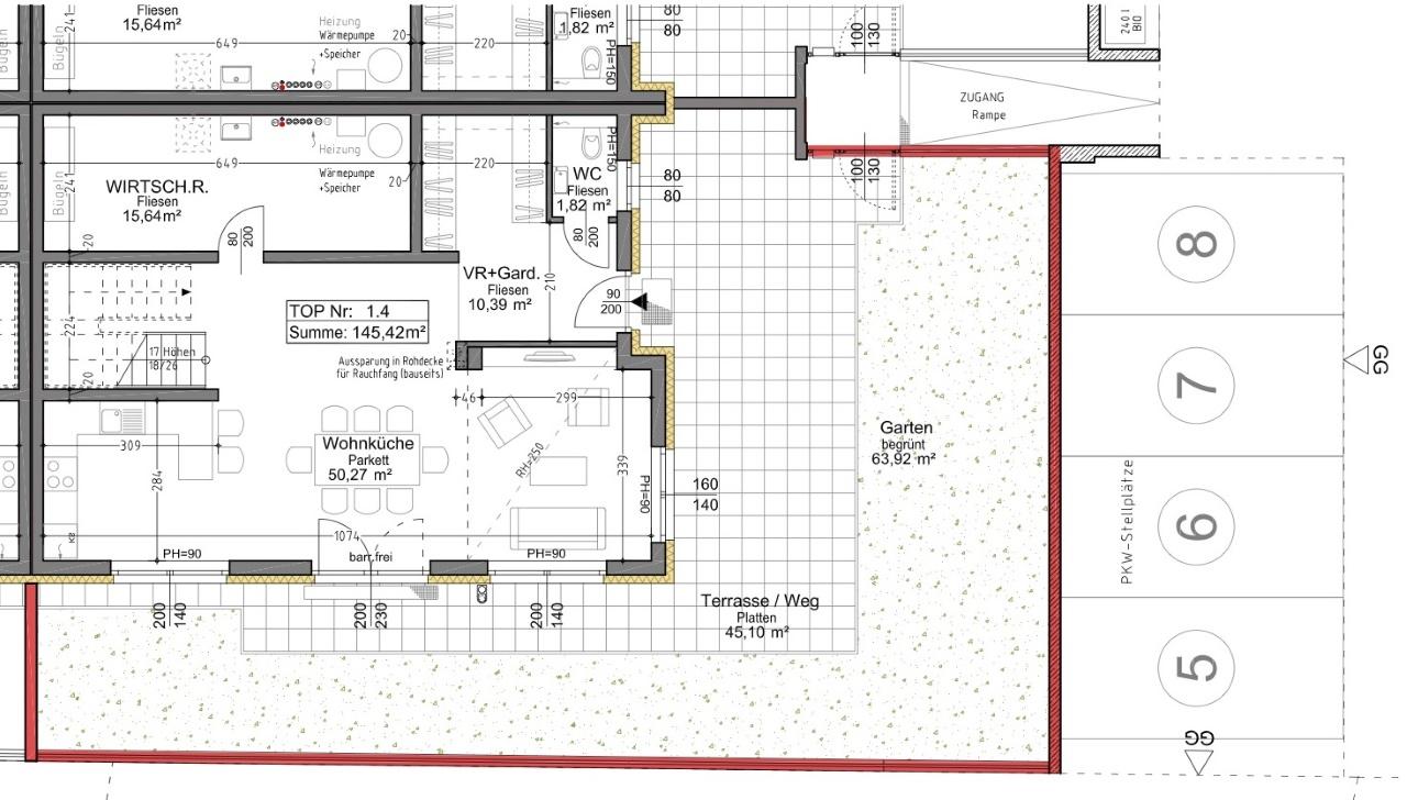 Plan 1.4 Musterhaus EG
