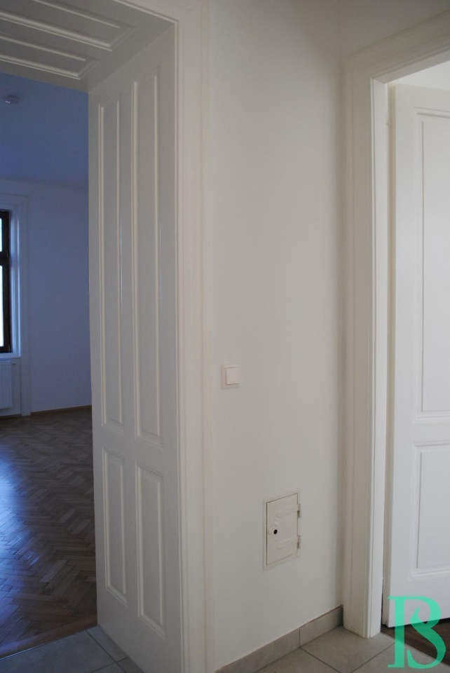 Diele Blick Wohnzimmer und Zimmer