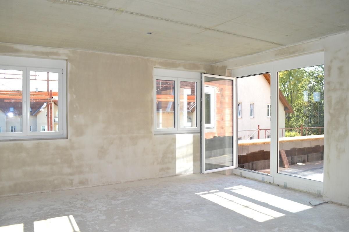 Bauplatz Sept 2019 F4
