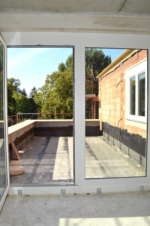 Terrasse Wohnzimmerebene