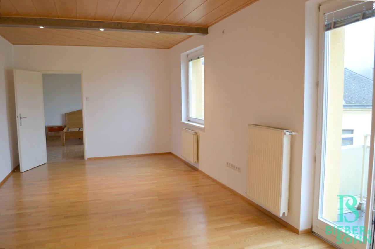 Wohnraum Blick Schlafzimmer