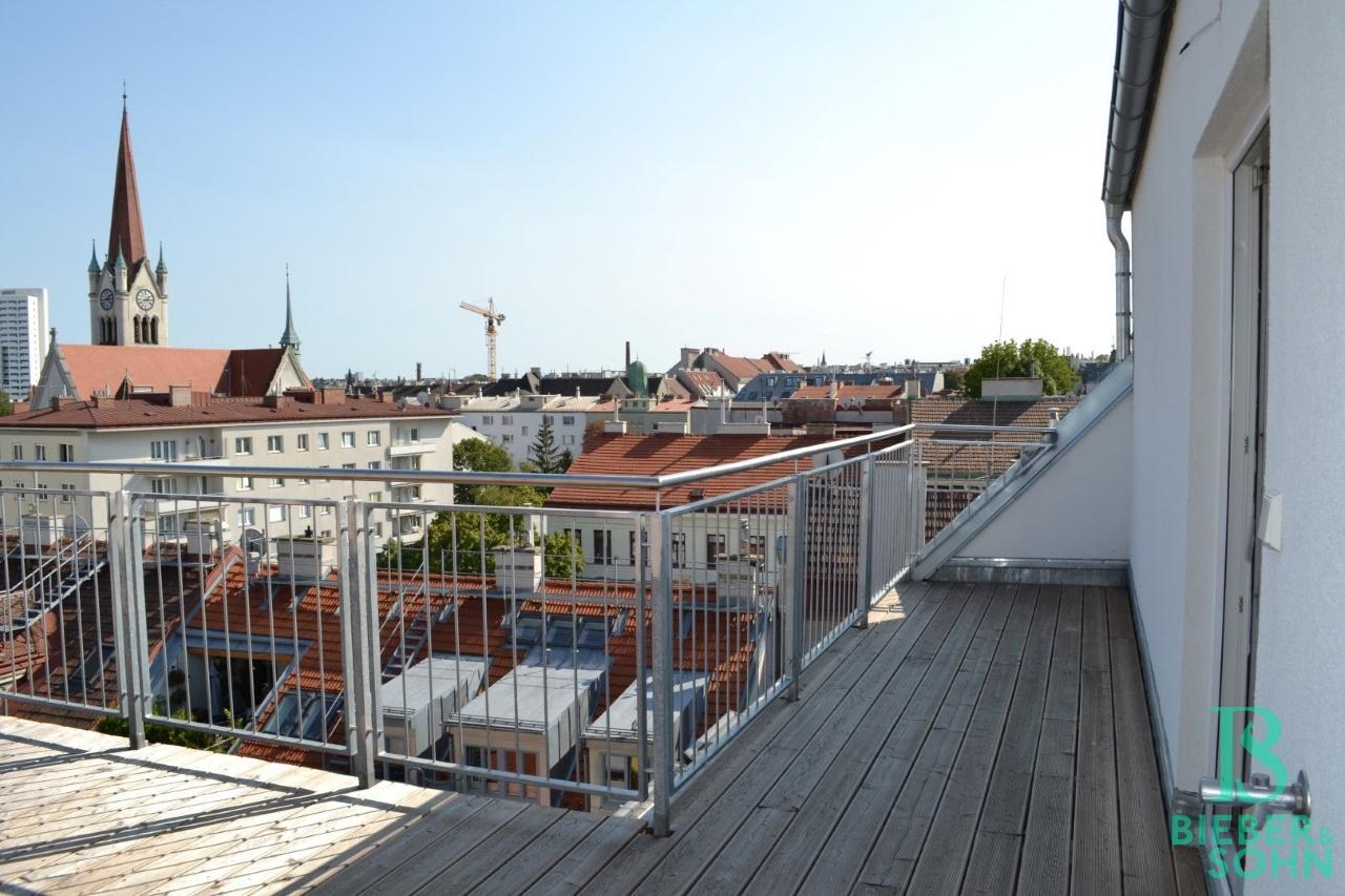 Dachterrasse/Ausblick