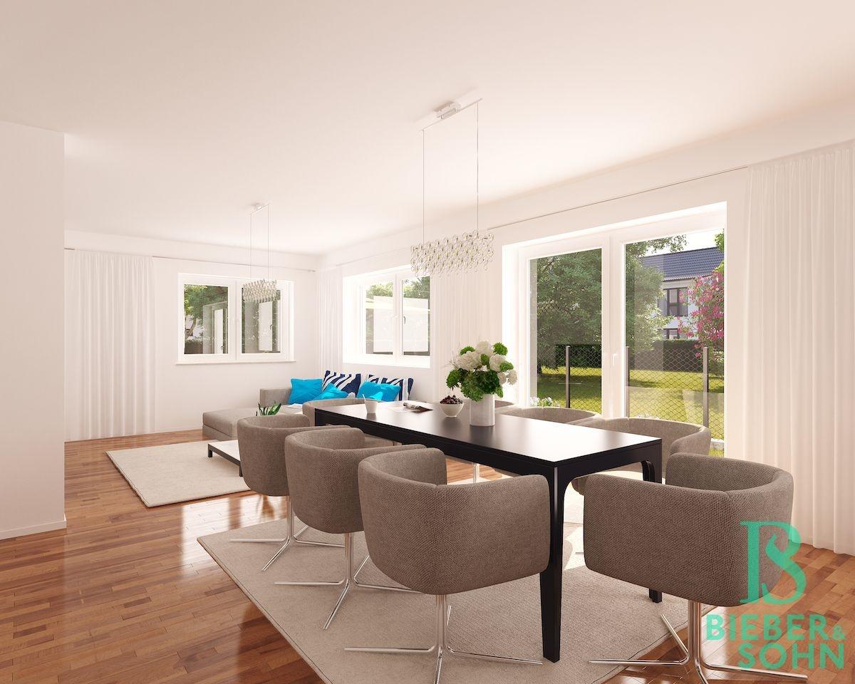 Wohnzimmer 3D Image Bild