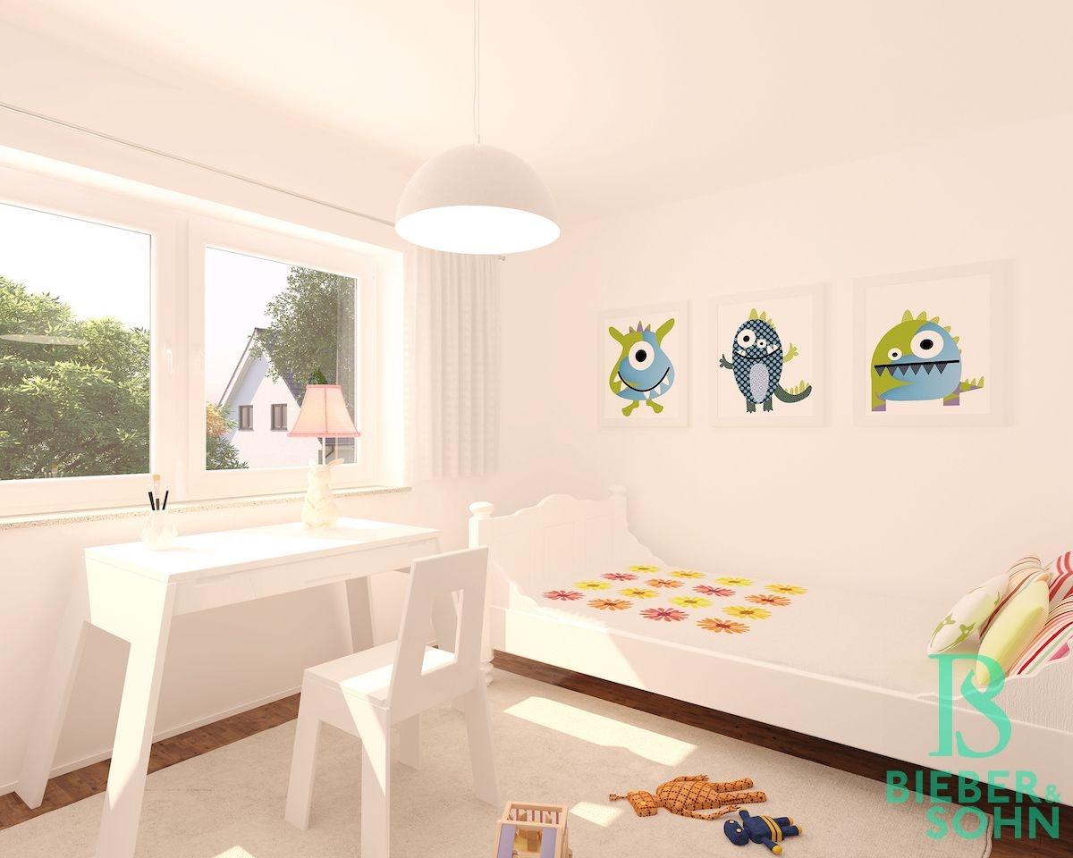 Kinderzimmer 3D Image Bild