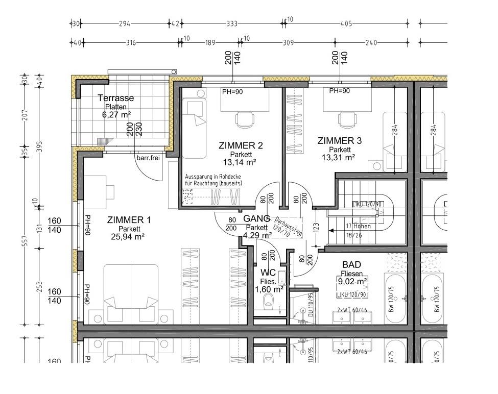 Plan 1.1 Musterhaus OG