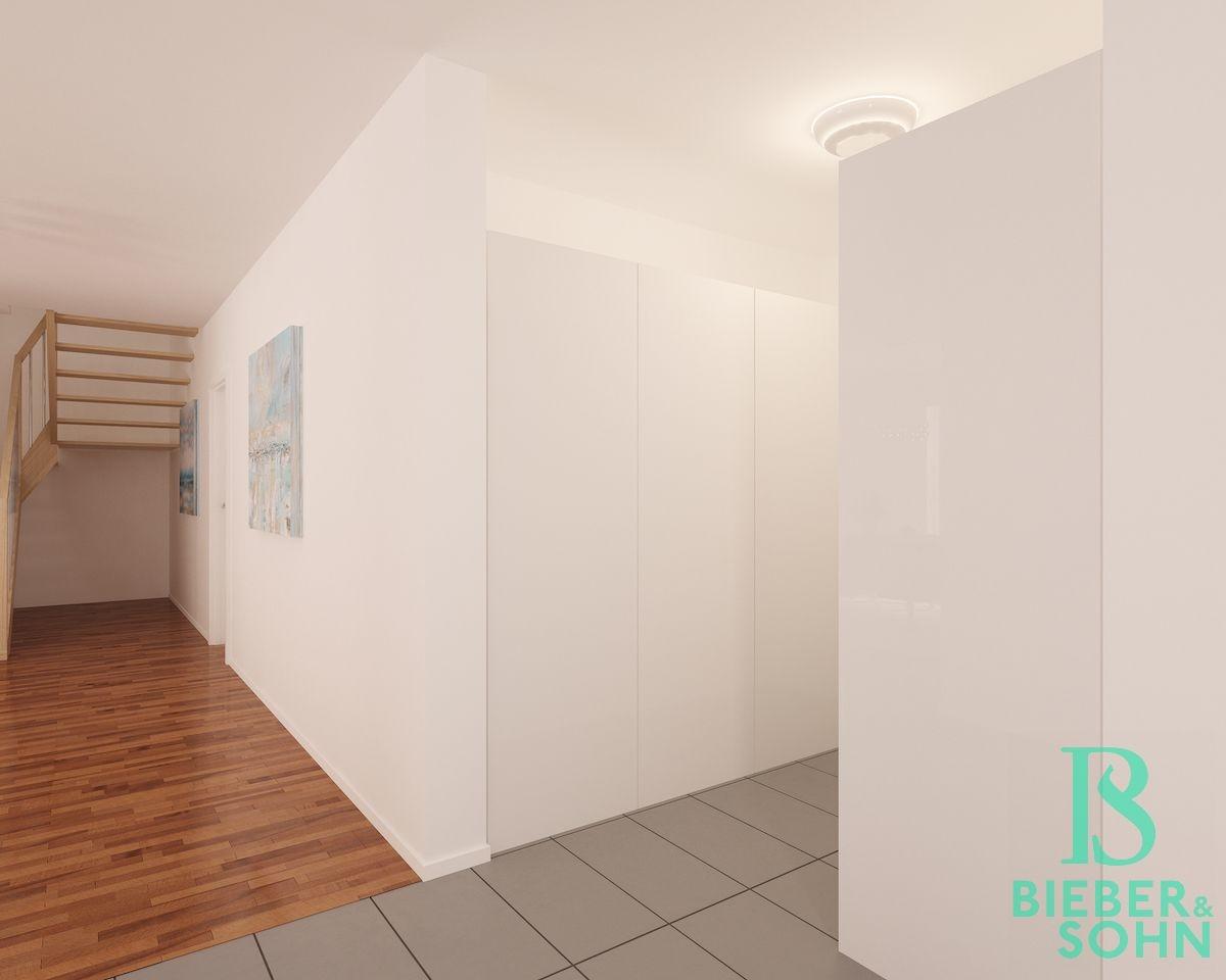 Vorzimmer Garderobe 3D Image Bild
