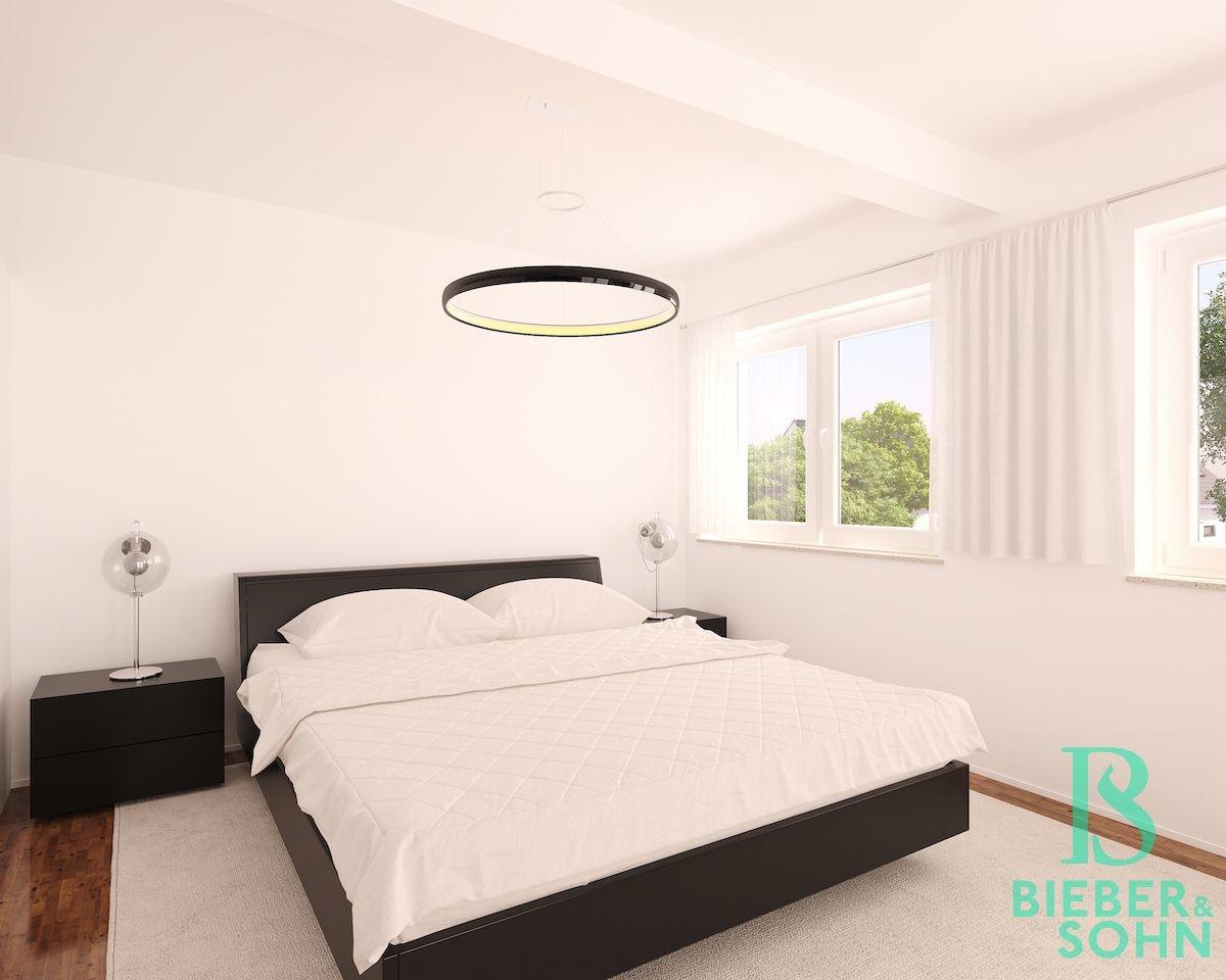 Schlafzimmer 3D Image Bild