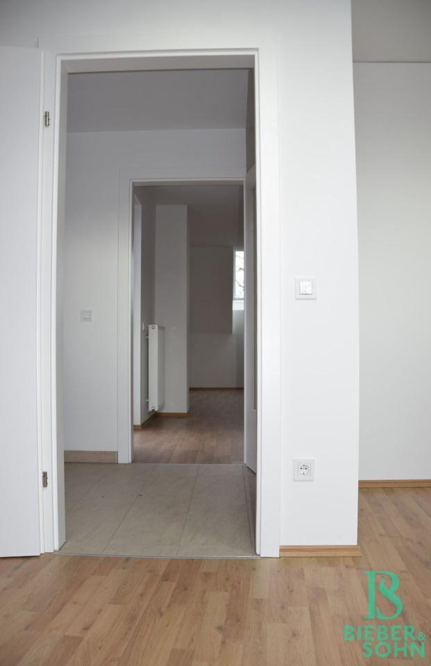 Blick Vorraum/Wohnraum