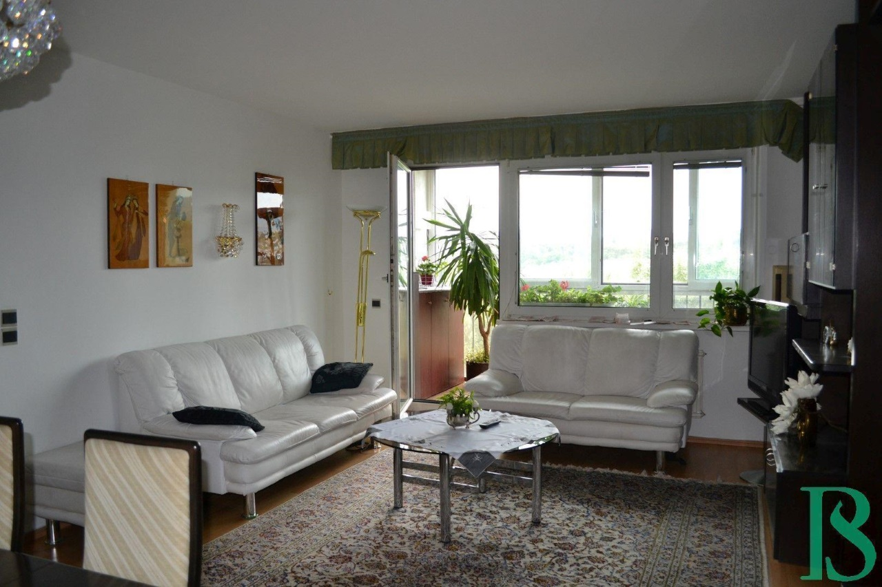 Wohnraum/Blick Loggia