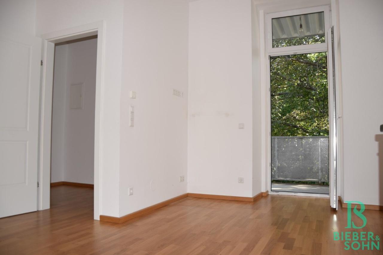 Blick Balkon/Vorraum