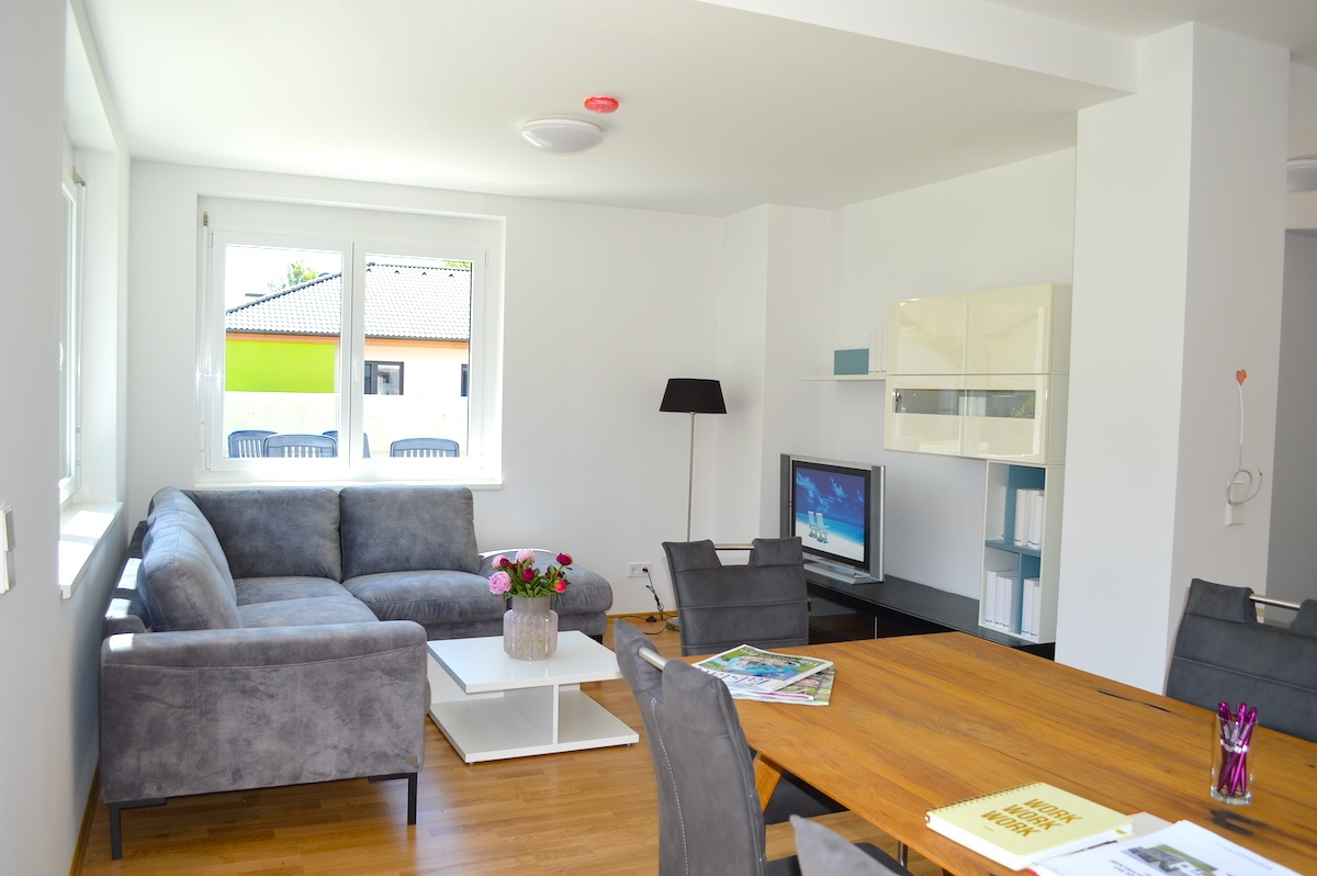 Wohnzimmer Musterhaus