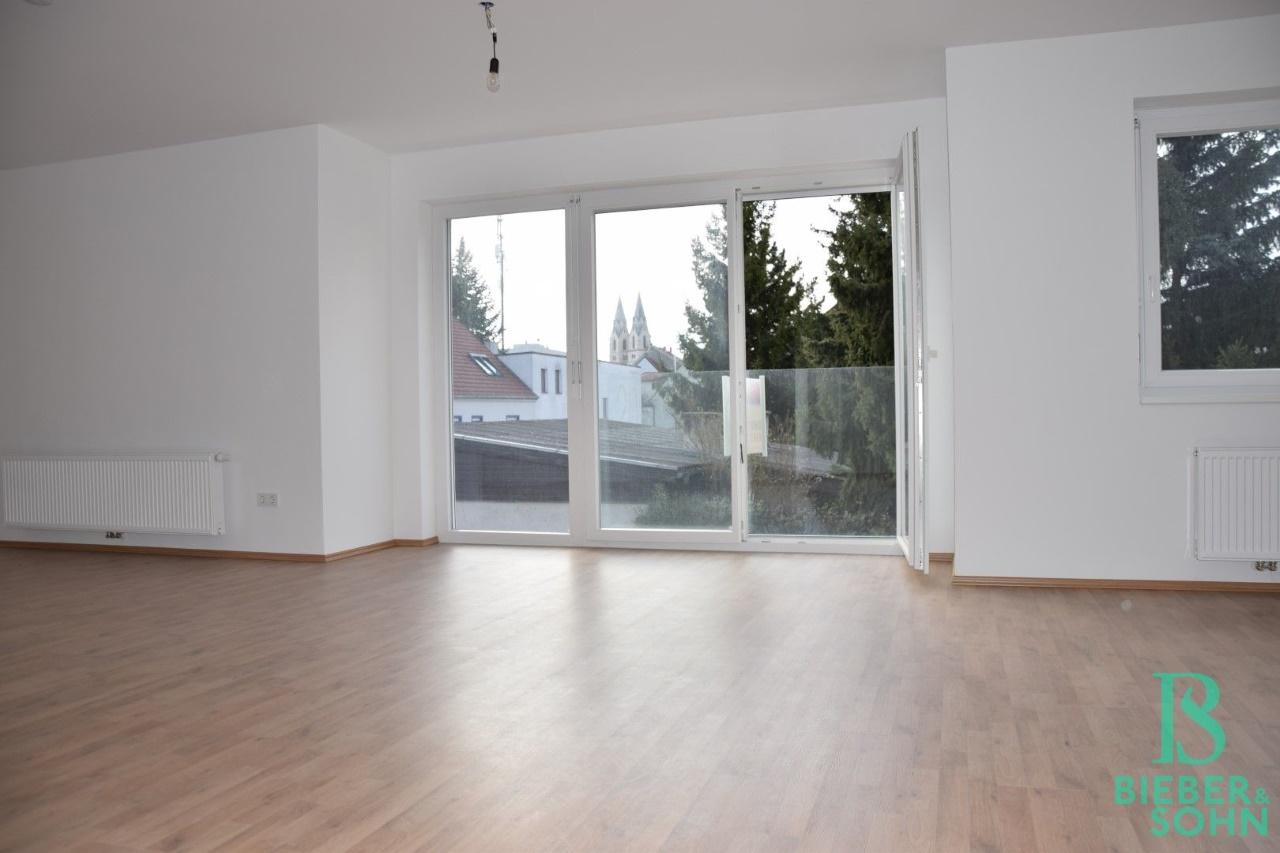 Wohnraum/Blick zum Dom