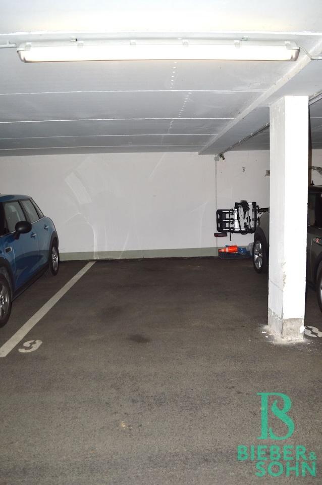 Stellplatz in der Garage