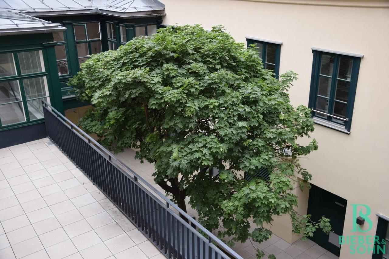 Blick Innenhof