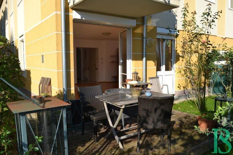 Terrasse/Blick Wohnzimmer