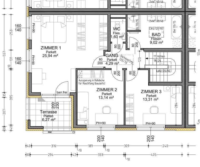 Plan 1.2 Musterhaus OG