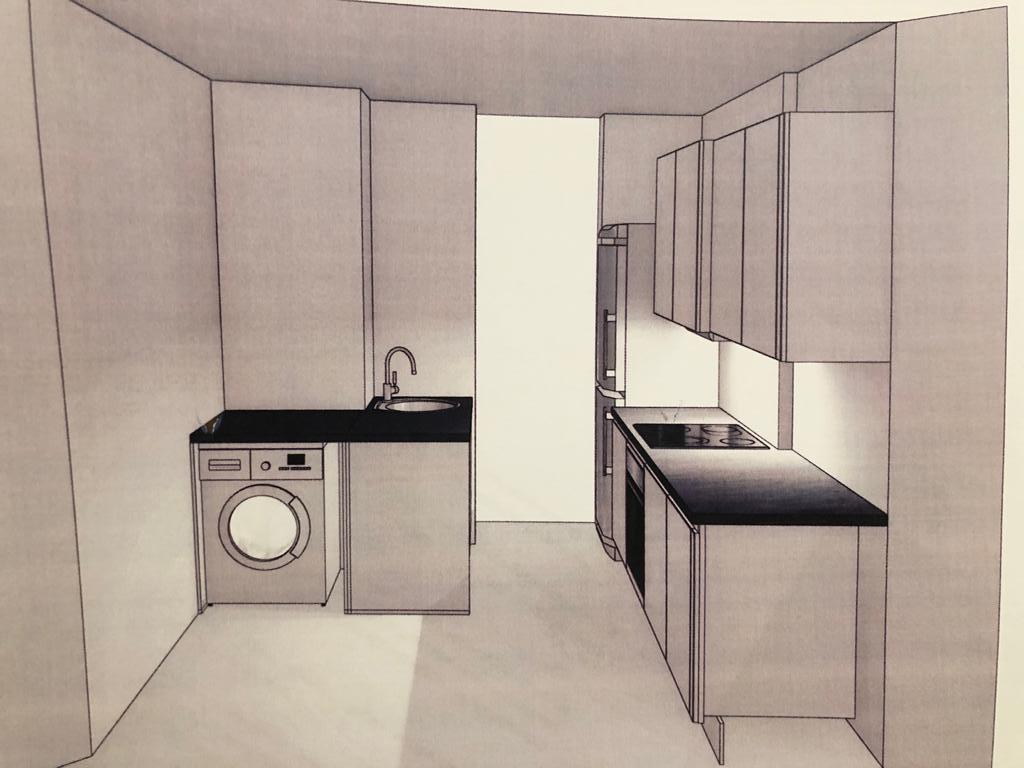 Küche (im Vorraum)