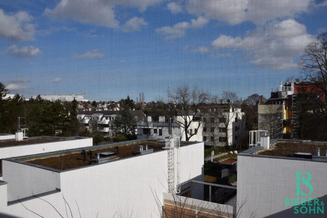 Ausblick vom Dachgeschoss